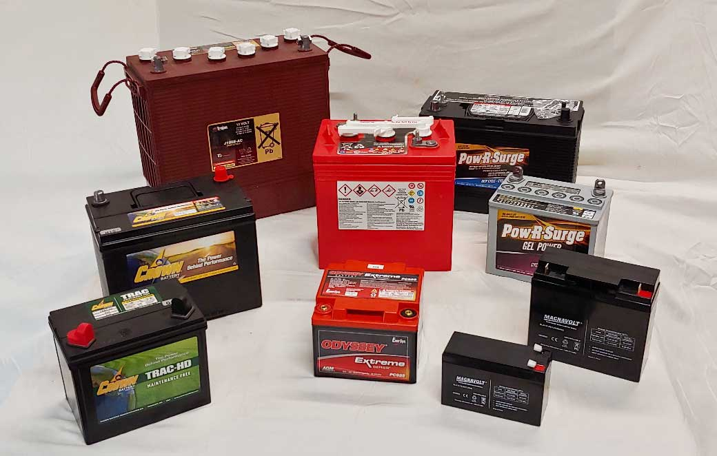 Commercial Deep Cycle Battery